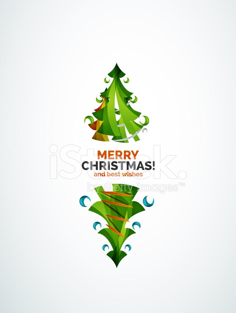 Diseno Geometrico Del Arbol De Navidad Stock Vector Freeimagescom - Arbol-navidad-diseo