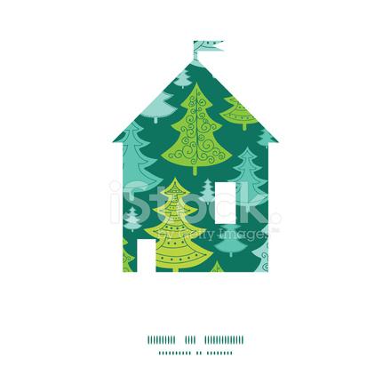 premium stock photo of weihnachtsbume fr vektor urlaub ferienhaus silhouette muster rahmen - Urlaubsantrag Muster