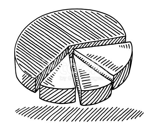 Pie chart diagram drawing stock vector freeimages pie chart diagram drawing ccuart Images