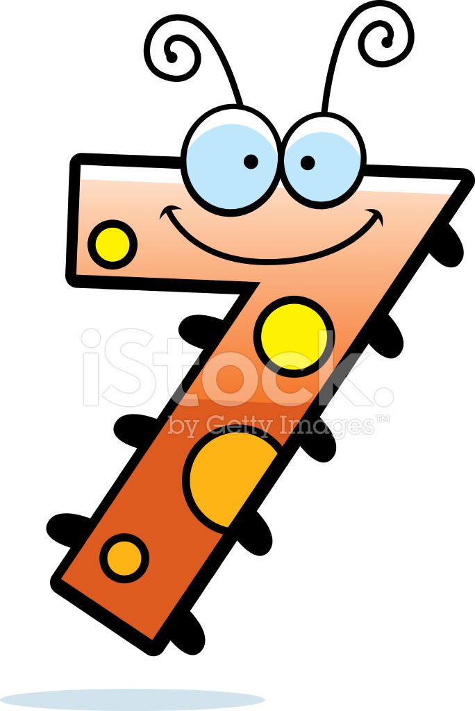 cartoon number seven bug stock vector freeimages com camera clip art funny camera clip art free