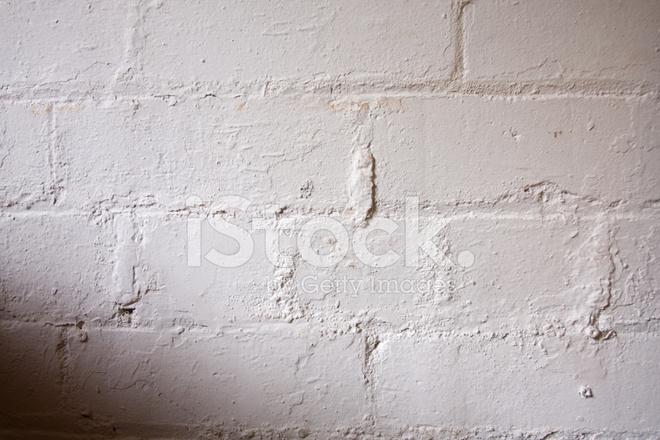 Stenen Muur Wit : Bakstenen muur geschilderd wit stockfotos freeimages.com