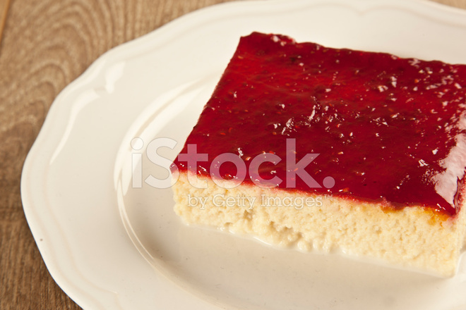 Turkische Traditionelle Trilece Milch Dessert Kuchen Stockfotos