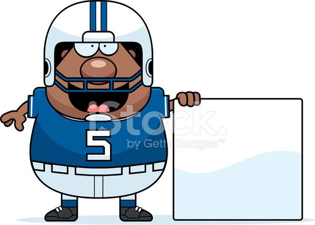 Cartoon Fussball Zeichen Stock Vector Freeimages Com