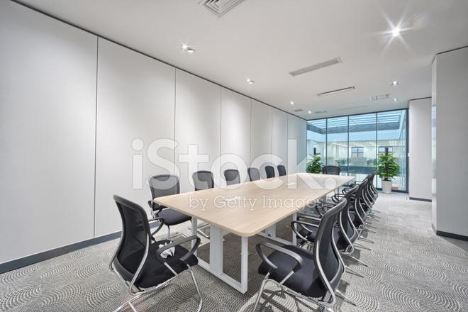 Modern Kantoor Interieur : Moderne kantoor vergadering van kamer interieur stockfoto s