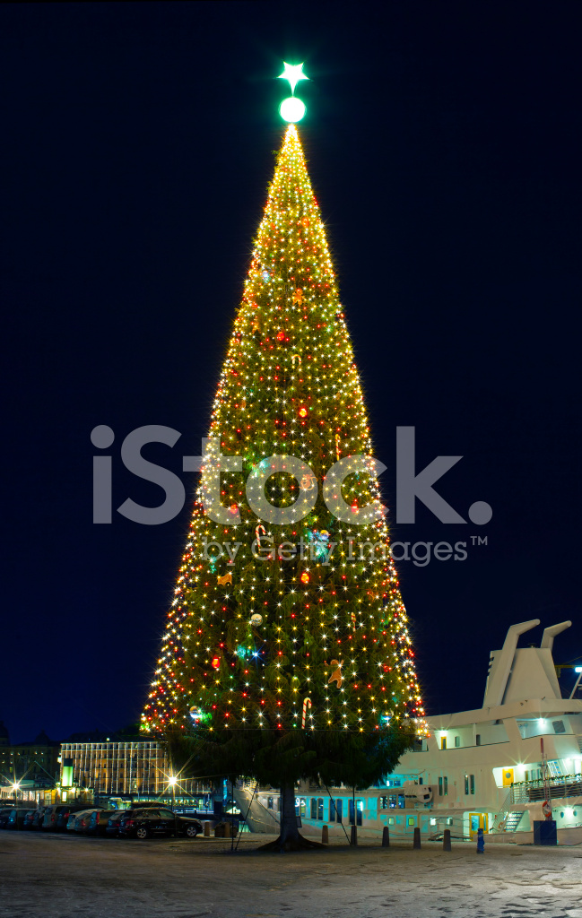Large Christmas Tree Stock Photos Freeimages Com