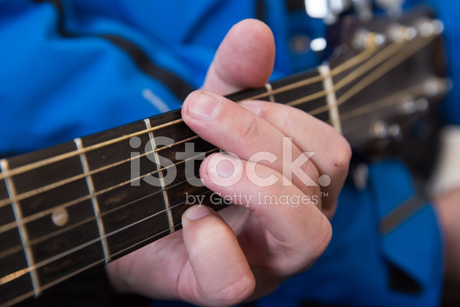 Hands Take Guitar Chords Stock Photos Freeimages