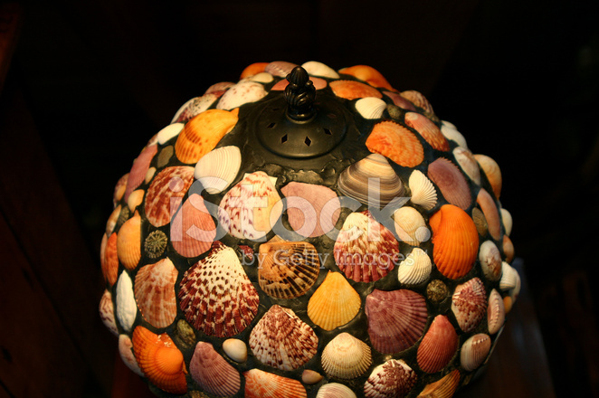 Sea shell lampshade stock photos freeimages premium stock photo of sea shell lampshade mozeypictures Gallery