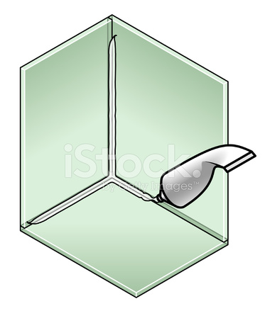 Gluing Glass Sheets Stock Vector Freeimages Com
