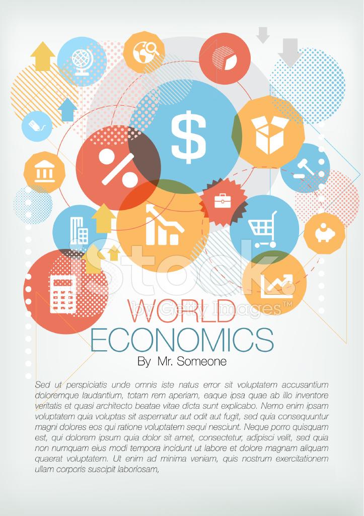 Economic page design stock photos for Design economico