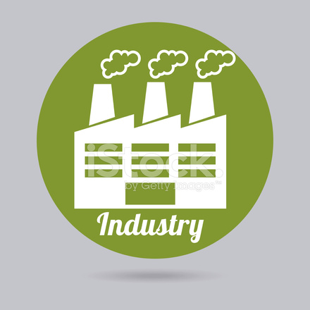 Industry Icon Stock Vector - FreeImages.com