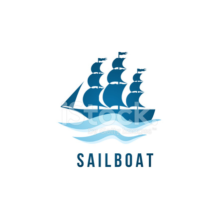 sailboat template stock vector freeimages com