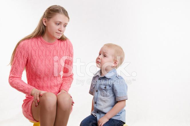 трахнул мамку мальчик свою молодую