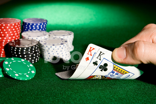 Pocket Kings IN Poker Stock Photos - FreeImages.com