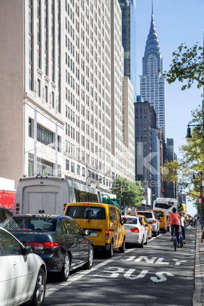 Abd New York Sokak Stok Fotoraflar