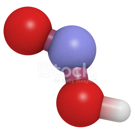 nitrous acid hno2 molecule chemical stock photos freeimages com