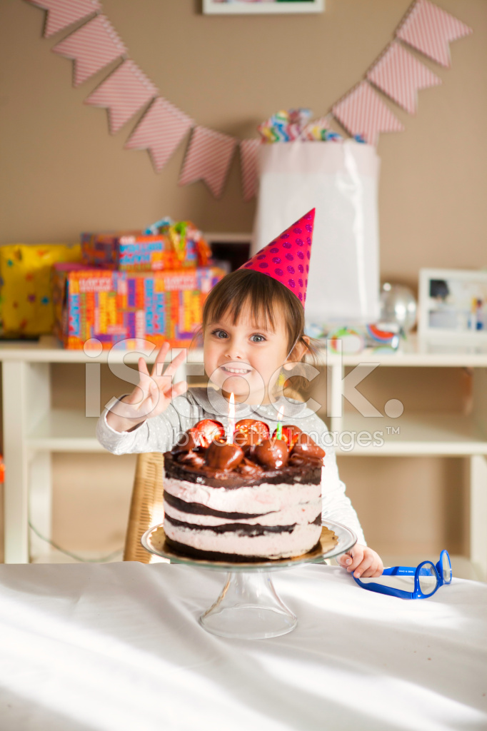 Pleasing 3 Year Old Birthday Girl Stock Photos Freeimages Com Birthday Cards Printable Inklcafe Filternl