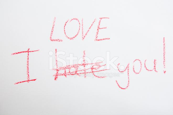 Merveilleux Handwritten Simple Words. I Love You. Creative Card