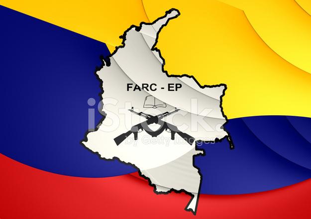 flag of farc ep stock photos freeimagescom