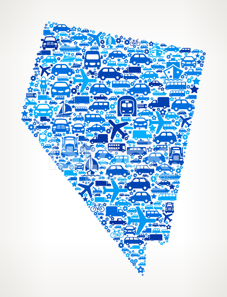 Nevada State On Transportation Royalty Free Vector Art Pattern Stock Vector Freeimages Com