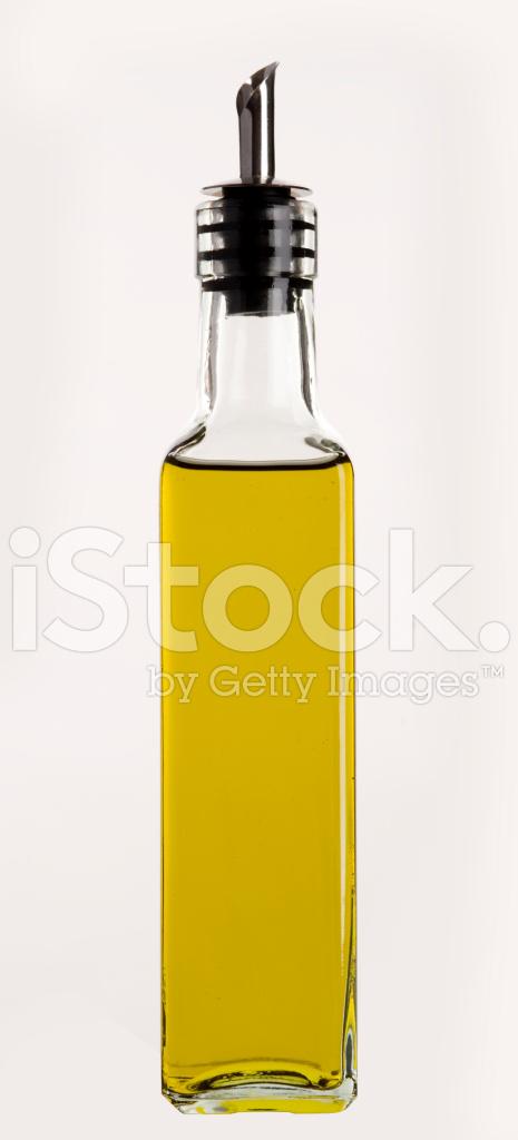 huile d 39 olive dans une bouteille carr e avec bec verseur photos. Black Bedroom Furniture Sets. Home Design Ideas