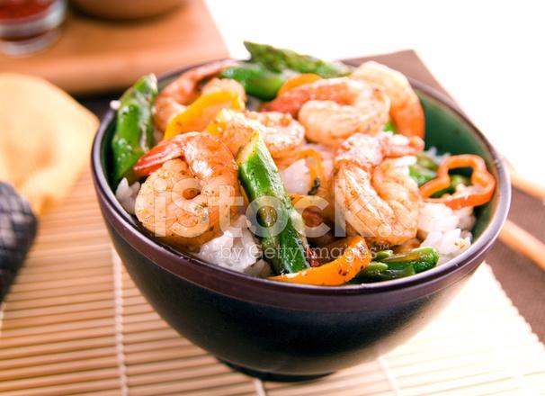 Chili Lime Shrimp Stir Fry stock photos - FreeImages.com