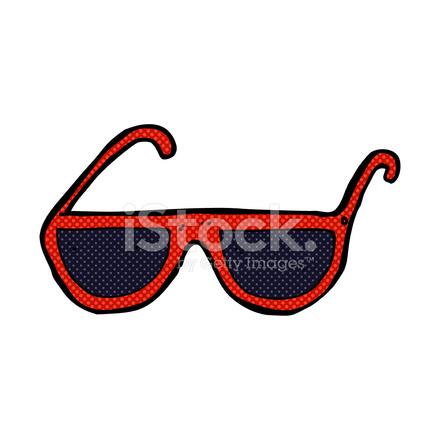 Dessin Lunettes De Soleil lunettes de soleil dessin animé comique stock vector - freeimages