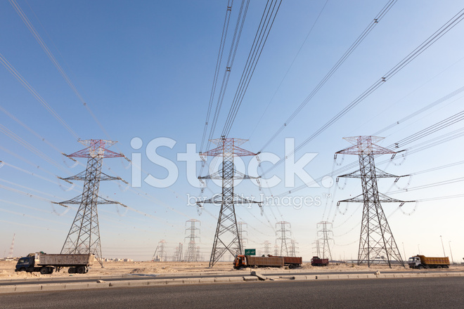 High Voltage Power Lines Stock Photos - FreeImages.com