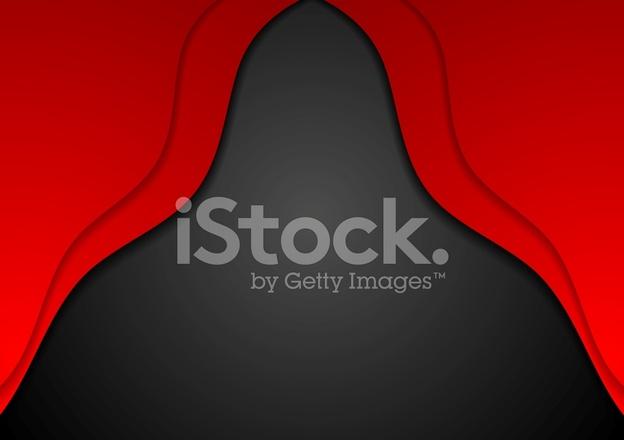 Rosso E Nero Sullo Sfondo Ondulato Azienda Fotografie Stock