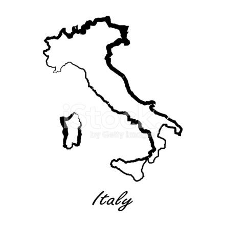 Italia Cartina Vettoriale.Mappa Di Italia Per Il Vostro Disegno Stock Immagine Vettoriale Freeimages Com