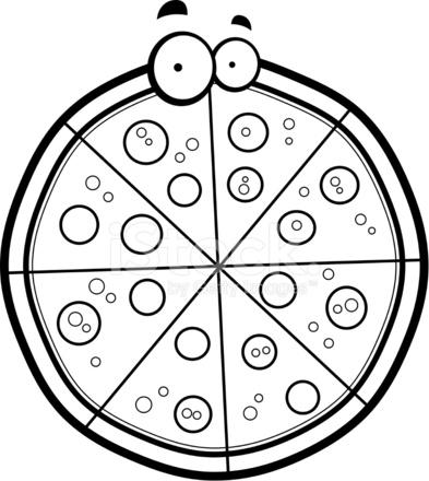 Dibujos Animados DE Pizza fotografas de stock  FreeImagescom