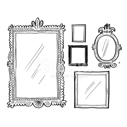 Artsy Doodle Frames Stock Vector Freeimages