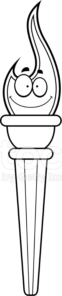 olympic torch coloring page - wenlock 2012 mascot free colouring pages