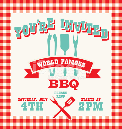 free bbq invitation template