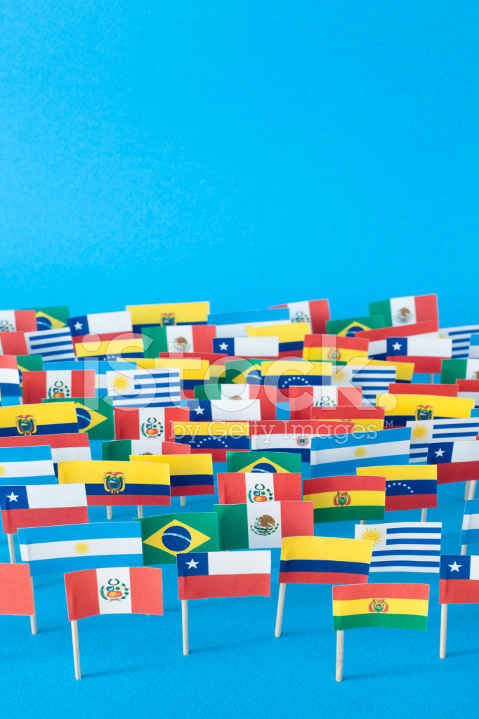 Latin American Flags Stock Photos Freeimages Com
