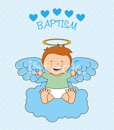 desenho de anjo batismo stock vector freeimages com
