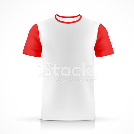 Weißes T Shirt Vorlage Stock Vector - FreeImages.com