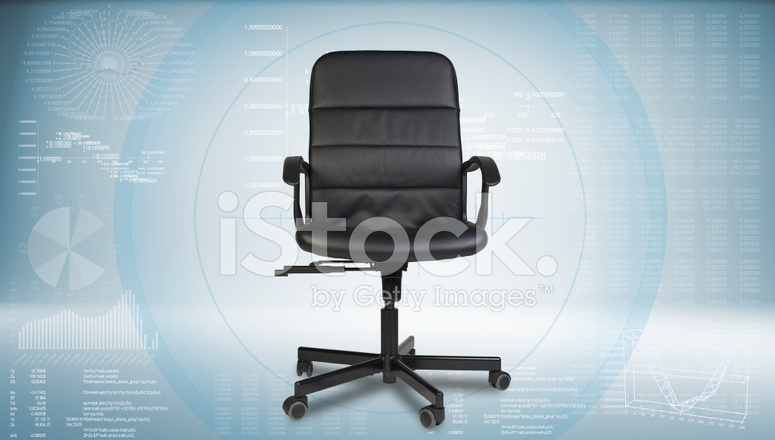 Sedie Da Ufficio In Pelle : Sedia da ufficio in pelle nera fotografie stock freeimages.com