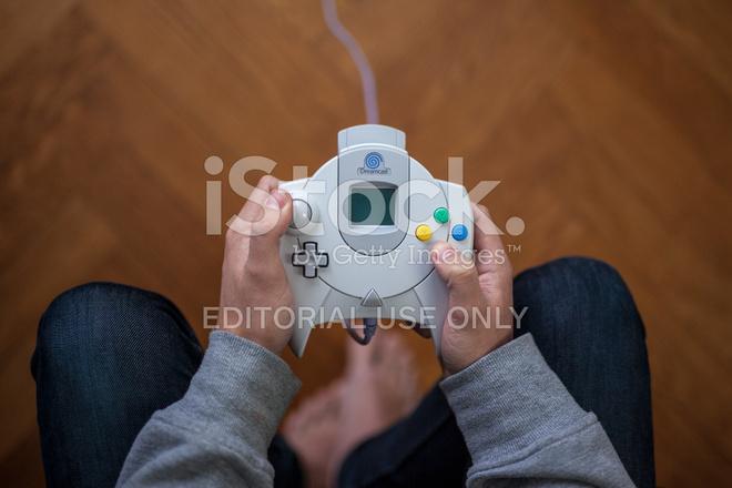 Controlador De Juegos Sega Dreamcast Fotografias De Stock