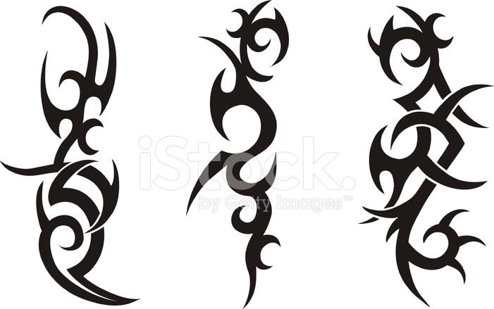 dise os de tatuajes tribales fotograf as de stock. Black Bedroom Furniture Sets. Home Design Ideas