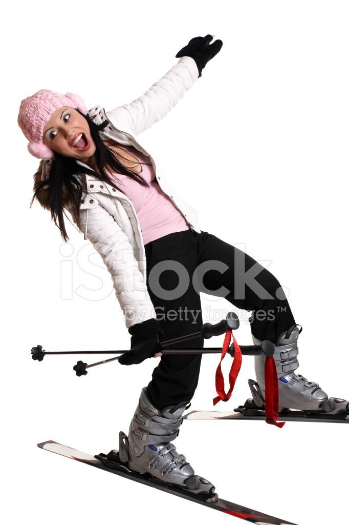 Lustige Ski Ausflug Stockfotos Freeimagescom