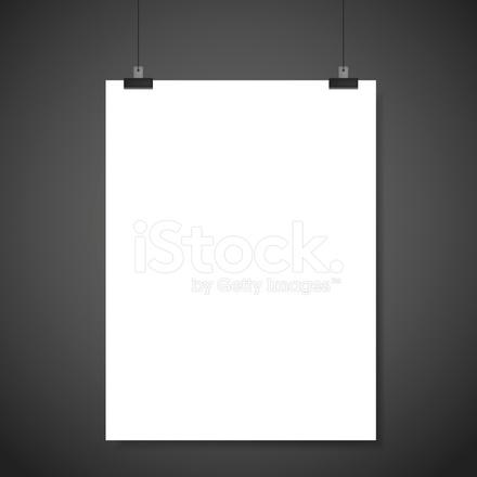 Papier Leer Broschüre Vorlage Stock Vector - FreeImages.com
