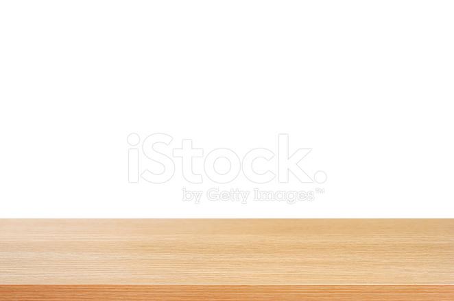 나무 테이블 상단과 흰색 바탕에 스톡 사진 - FreeImages.com