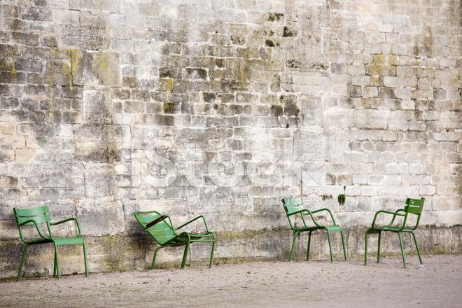 Sedie Francesi Da Giardino : Jardin des tuileries sedie da giardino verde parigi francia
