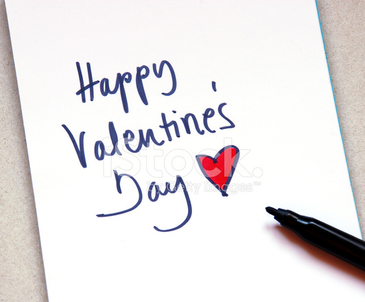 happy valentines day note stock photos - freeimages, Ideas