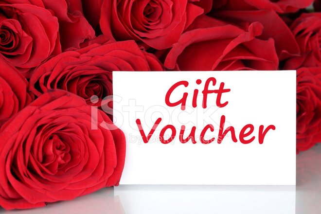 Gift Voucher For Birthday Valentine S Or Mothers Day Stock Photos