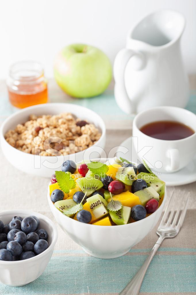 mango fruit salad is fruit healthy for breakfast