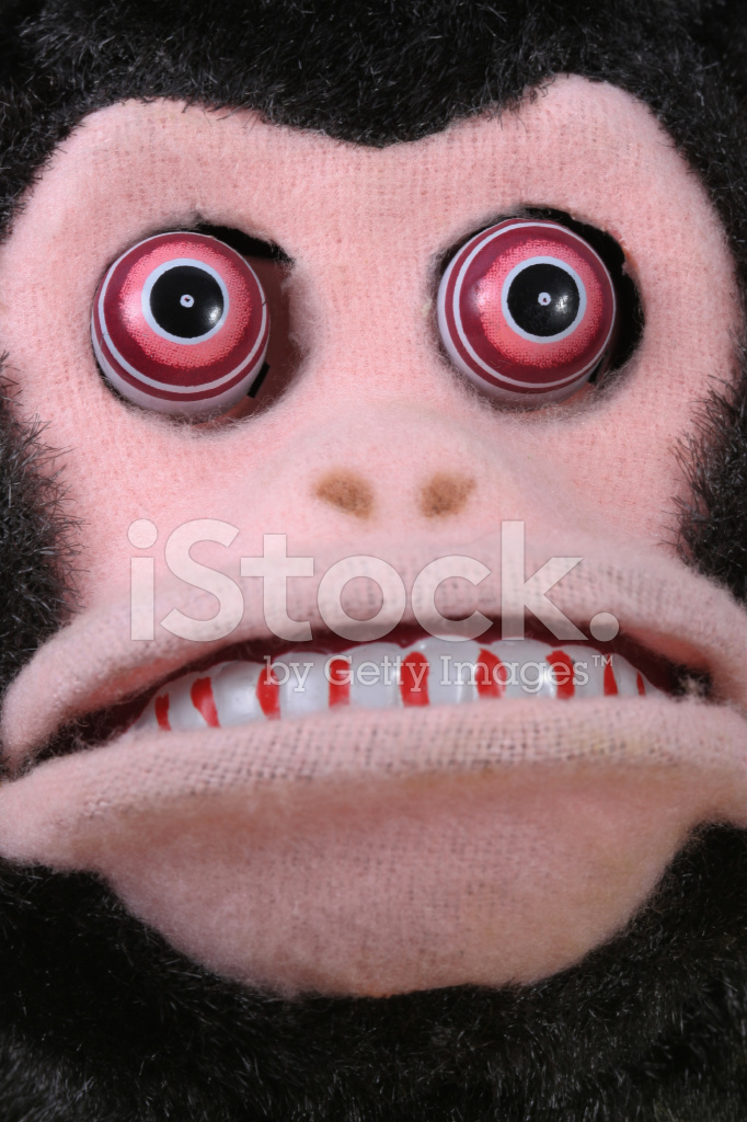 Vintage Scary Monkey Face 950092 on food of the 1950s