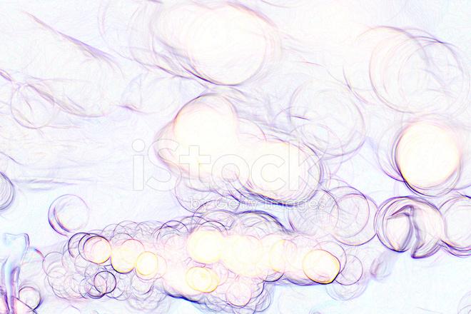 Sfondo Bianco Brillante Sfocatura Bokeh Colorato Brillante Cerchi