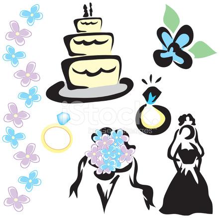 Hochzeit Symbole Stock Vector Freeimages Com