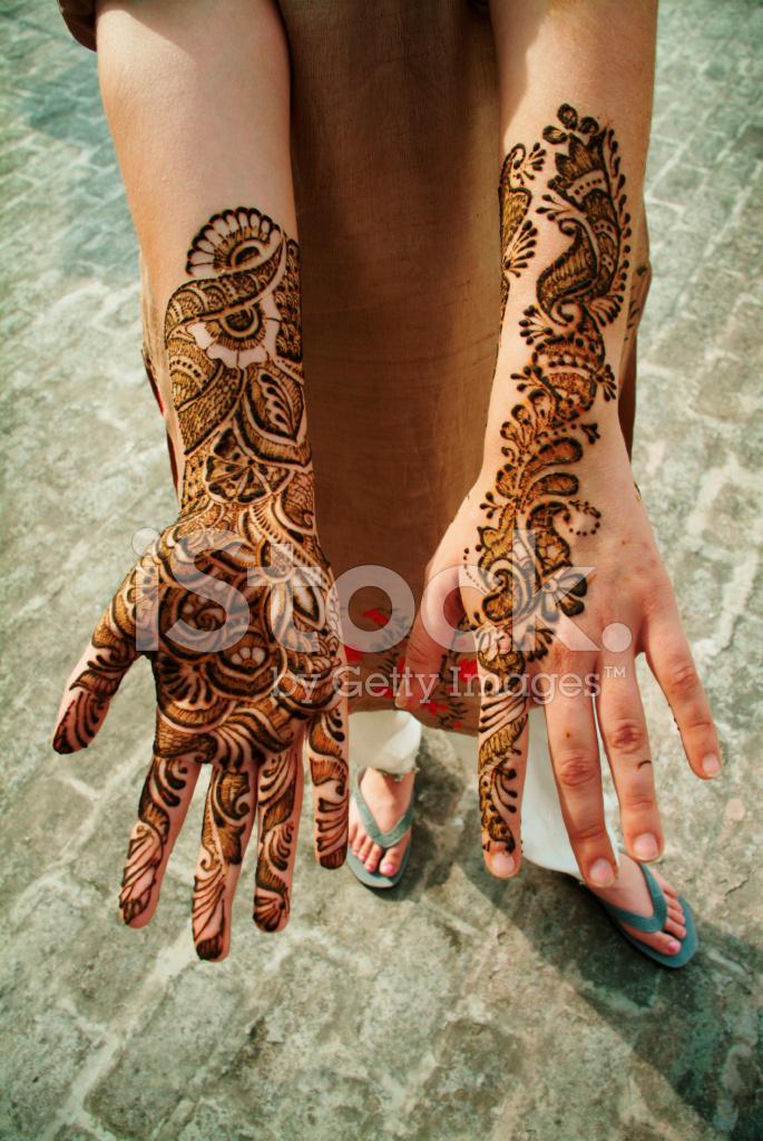 Henna tattoos on stock photos for Where can i get a henna tattoo near me